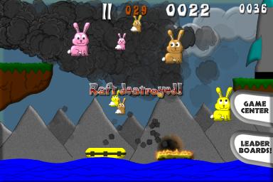 Raft destroyed final
