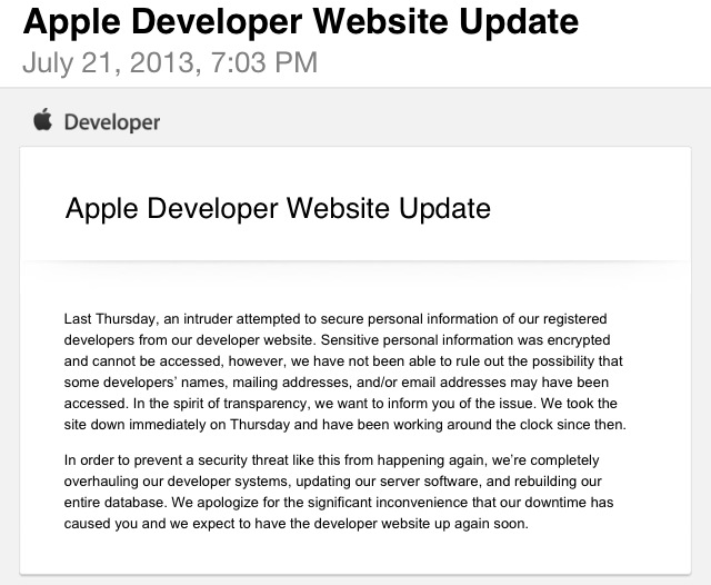 First email_Apple Hack