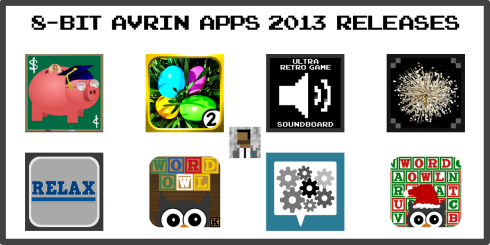 My App Releases In 2013 Banner