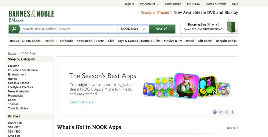 Barnes & Noble_Seasons Best - Easter - 2014